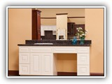 Charleston Antique White Vanity (soft-close doors & drawers are included)