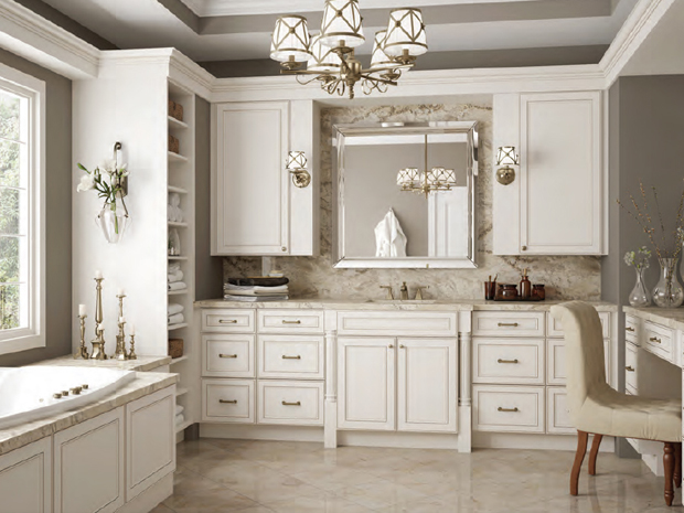 Kitchen Cabinets in York White