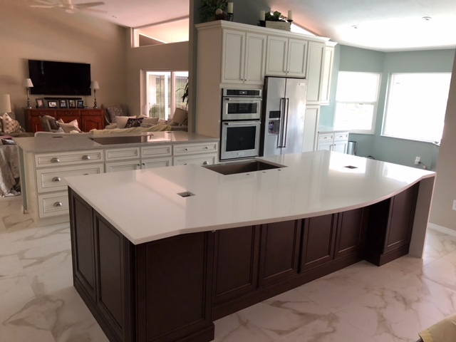 York White Kitchen Cabinets