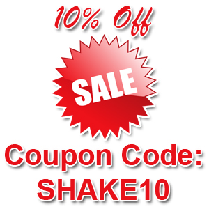 Sale 10% Off Shaker White Limited Time