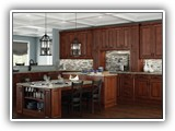 Kitchen Cabinets in Charleston Saddle