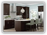 Kitchen Cabinets in Sanoma Mocha