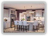 Kitchen Cabinets in Shaker Dove Gray
