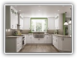 Kitchen Cabinets in Shaker White