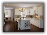 Kitchen Cabinets in Tahoe White