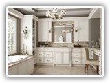 Kitchen Cabinets in York Antique White